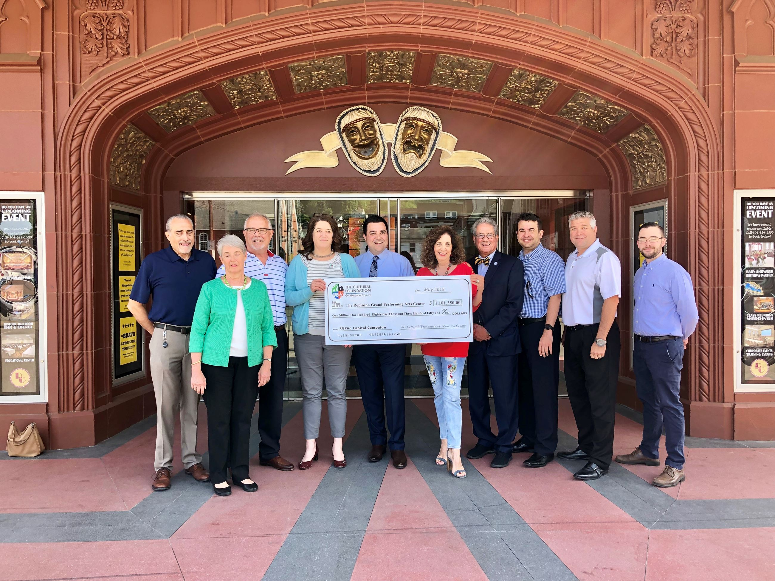 Capital Campaign Contributes to RGPAC 5-24-19
