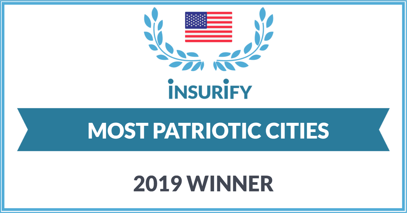 most patriotic city